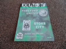 Hereford United v Stoke City, 1997/98 [Fr]